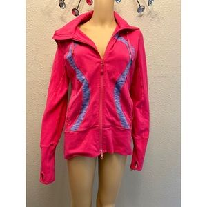 Lululemon athletic hooded jacket